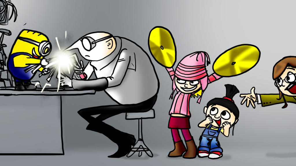Despicable Me - Cymbals by jameson9101322
