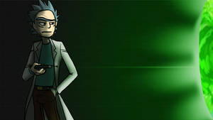 Rick and Morty - Portal Gun
