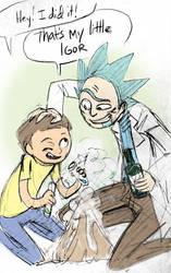 Rick and Morty - Igor