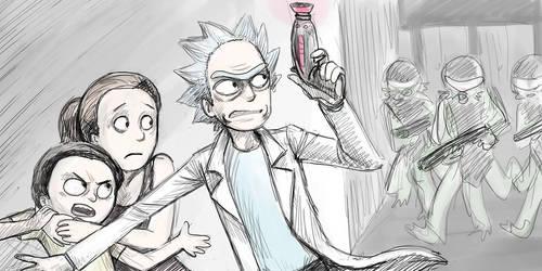 Rick and Morty Run