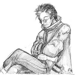Auron Sleeping by jameson9101322