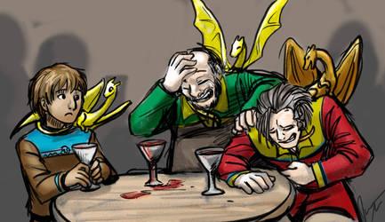 Dragonriders of Pern - Sober Friend
