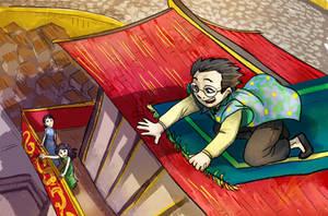 Discworld Twoflowerfic Carpet