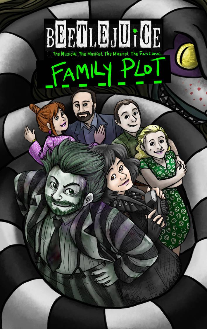 Beetlejuice Fancomic Family Plot Cover