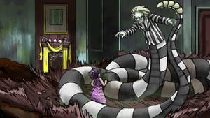 Beetlejuice Bjsr Comic Wallpaper Snakebeej