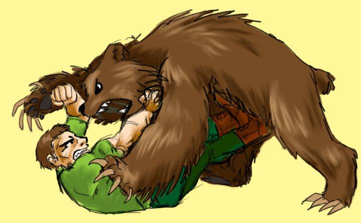 Bear Wrestling by jameson9101322