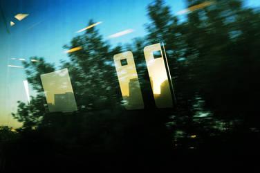 Riding into Oakland at dawn. by Krakentastic