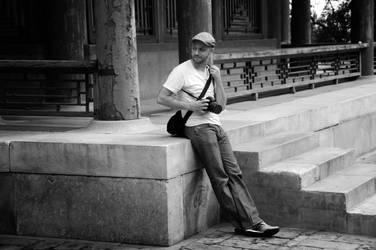 Relaxing in Beijing. by Krakentastic