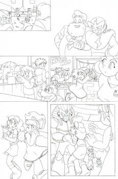 Archie Mega Man Redraw: Issue 13 Page 02
