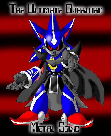 Metal Sonic Sonic Heroes By Lordshmeckie On Deviantart
