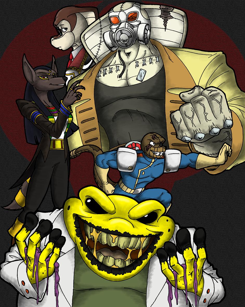 Cloudscratcher Teaser - Villains of Episode 4