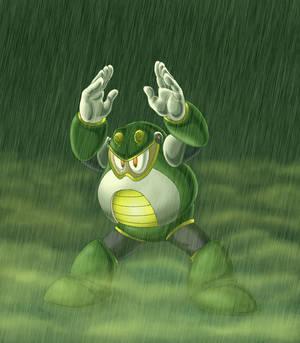 Toad Man Warmup Pic