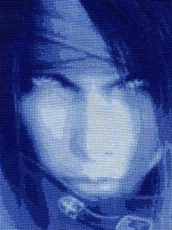 VincentValentine-Cross Stitch2 by shingorengeki