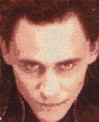 Loki - Cross Stitch by shingorengeki