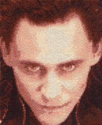 Loki - Cross Stitch by shingorengeki