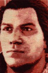 Connor Kenway - Cross Stitch 3