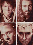 The Hobbit - Cross Stitch PATTERN collection