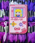 Sailor Moon Gameboy - Cross Stitch by shingorengeki
