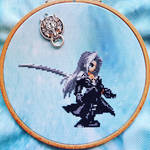 Sephiroth - Cross Stitch