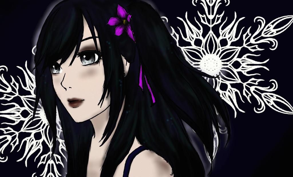 Flowergirl by zZDarkAngelZz