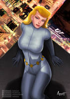 Catwoman unmasked - Batman The Animated Series by Ashnaut