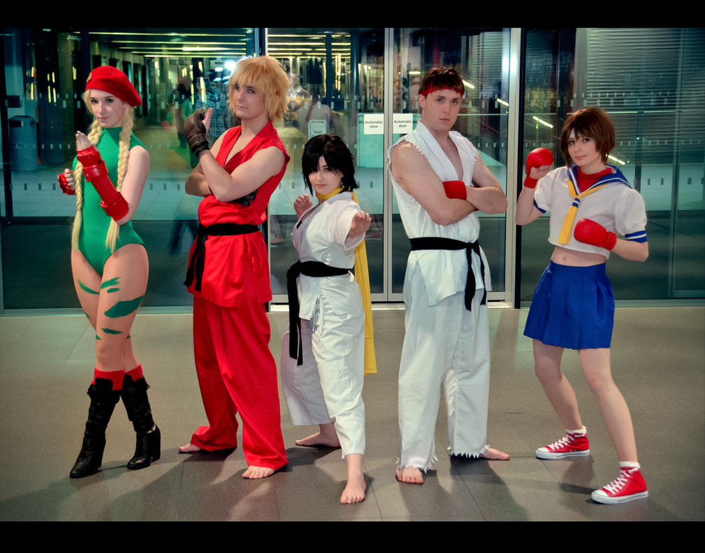 [x] Street Fighters [x] by King-OfTheWorld