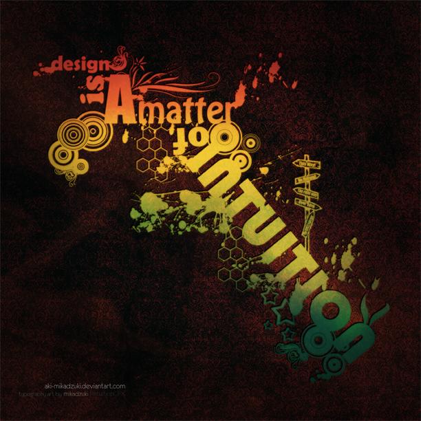 A Matter of Intuition by aki-mikadzuki