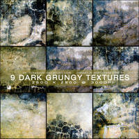 Dark Grungy Texture Pack by aki-mikadzuki
