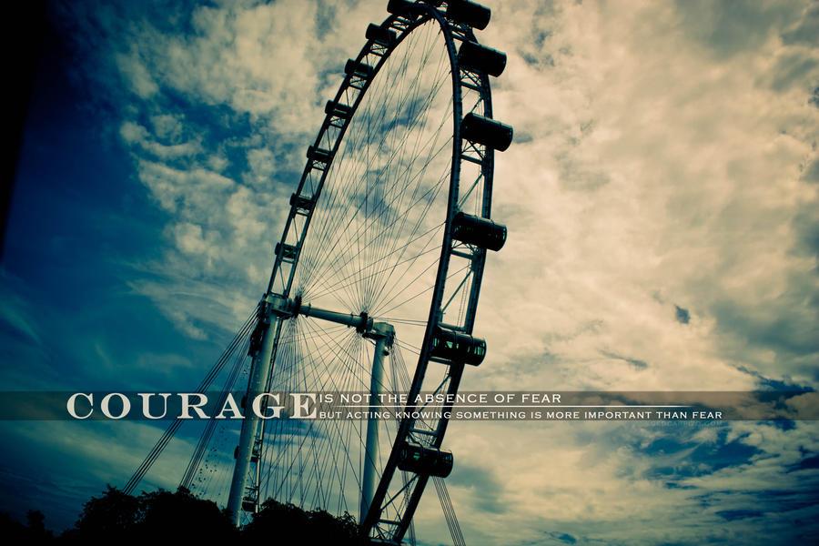 Courage by aki-mikadzuki