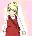 FMA- Young Winry Rockbell
