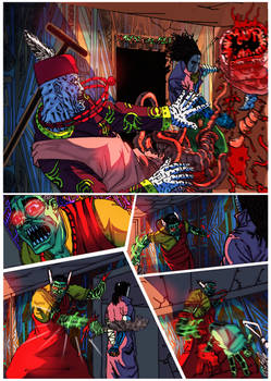 Blood trail 3-page 3 colors by me