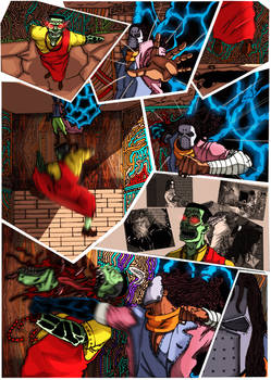 Blood trail 3-page 5 colors by me