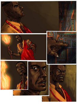 Blood trail 2-page 6 colors by me