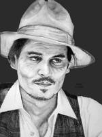 Johnny Depp by GraphiteFox