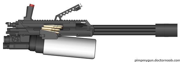 Minigun by Kyle-666