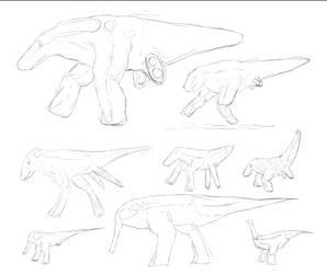 Rhynia: A Sketch of Various Sarcopod Dromaeopods