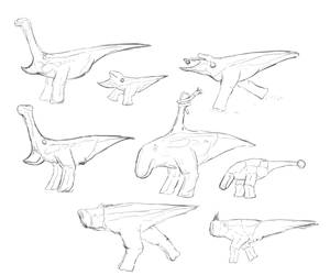 Rhynia: A Sketch of Various Dromaeopods (II)