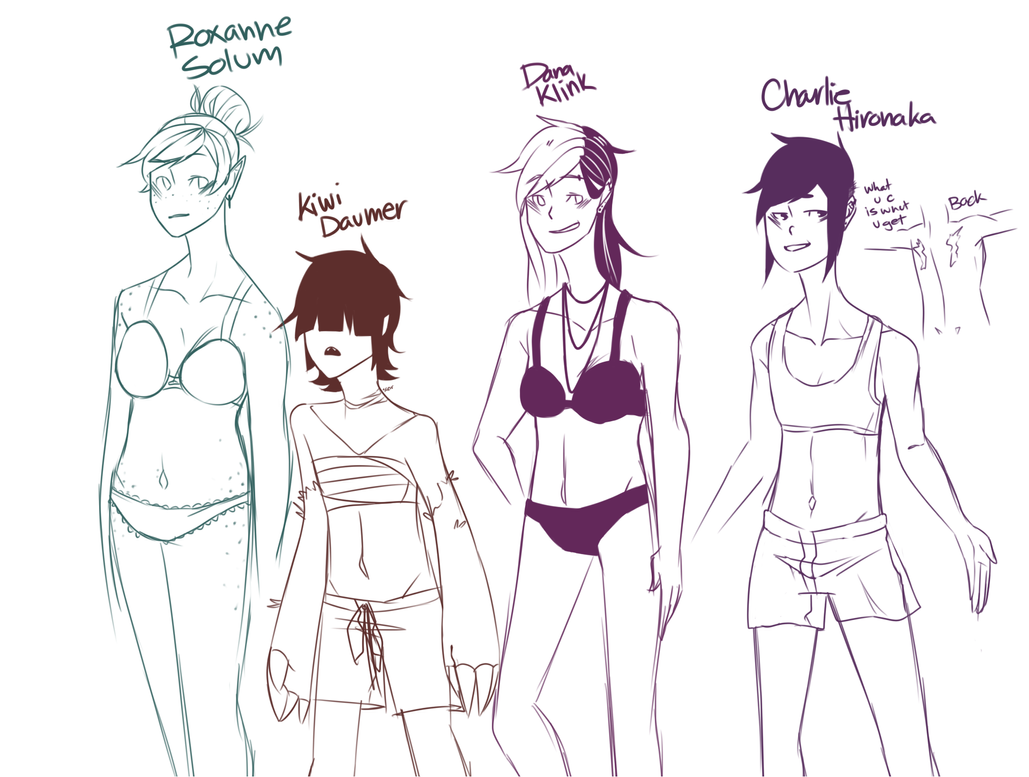 Character body types: Ladys by Ask-Roy-Franzier on DeviantArt