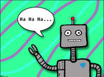 A Giggling Robot