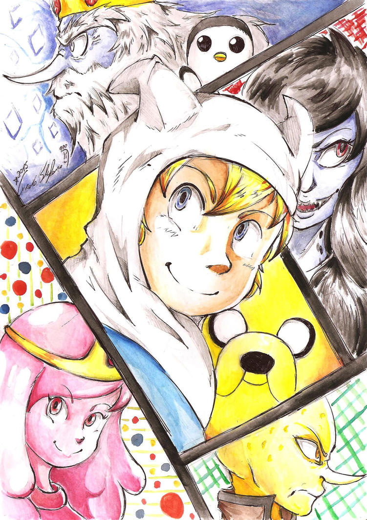 Adventure Time by SteveShadow