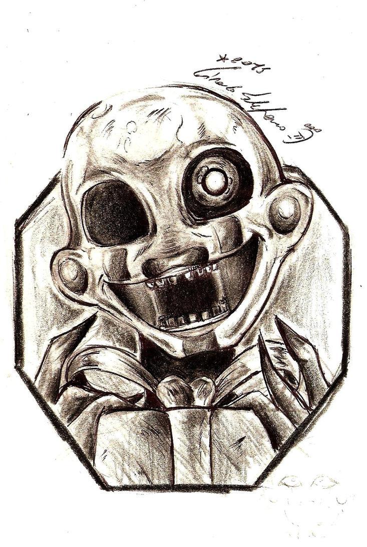 [FNAF] Puppet 001 by SteveShadow