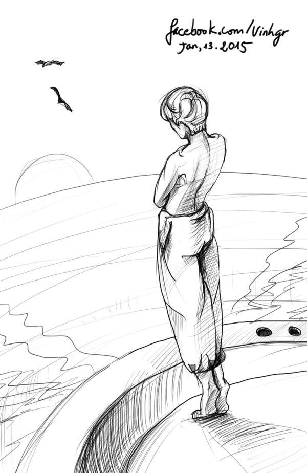 mood drawing by vnarts