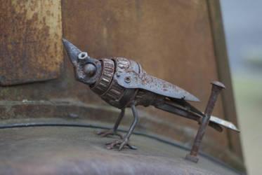 Steam Punk Bird by unifx