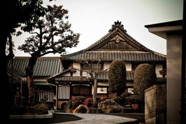 Showa-Ku Temple Japan Nagoya