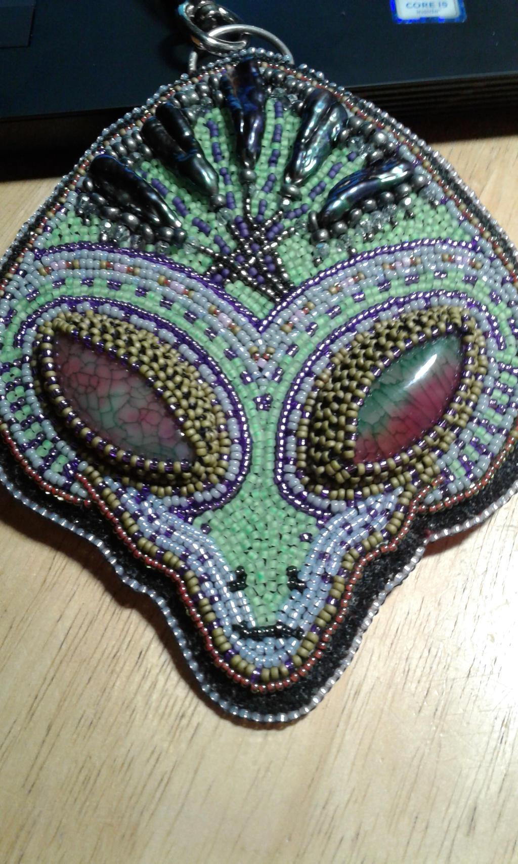 My First Alien Bag Charm by EchoForsberg