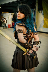 Cuffed Cosplay: Xena by bounder13