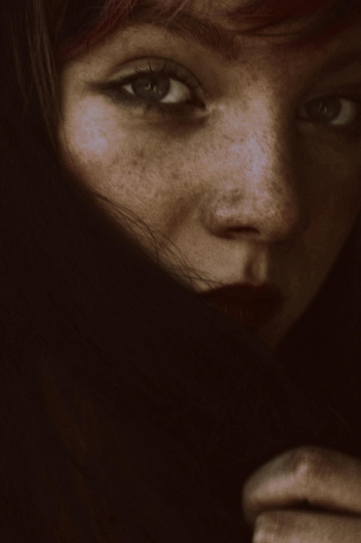 auburn mystery by CocoaDesert