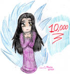 10,000 Kiriban by cleris4ever