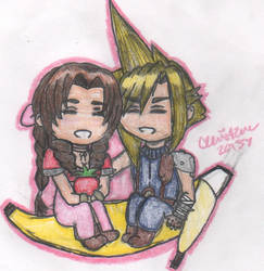 Sweet Strawberry and a Banana Dreamboat by cleris4ever