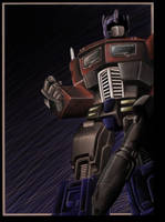 Optimus Prime g1 by SICKink